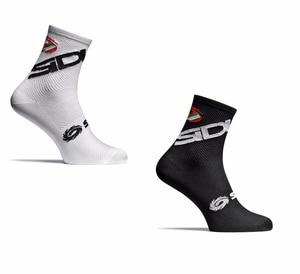 Image 2 - ใหม่ 2 สไตล์ขี่จักรยานถุงเท้าผู้ชายผู้หญิงกีฬากลางแจ้งสีดำสีขาว Breathable แผนที่ถุงเท้าถุงเท้า