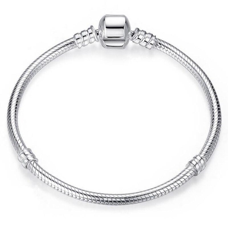 ZMZY Snake Chain Charm Bracelets for Women Men Jewelry Gift DIY Bracelet Dropshipping
