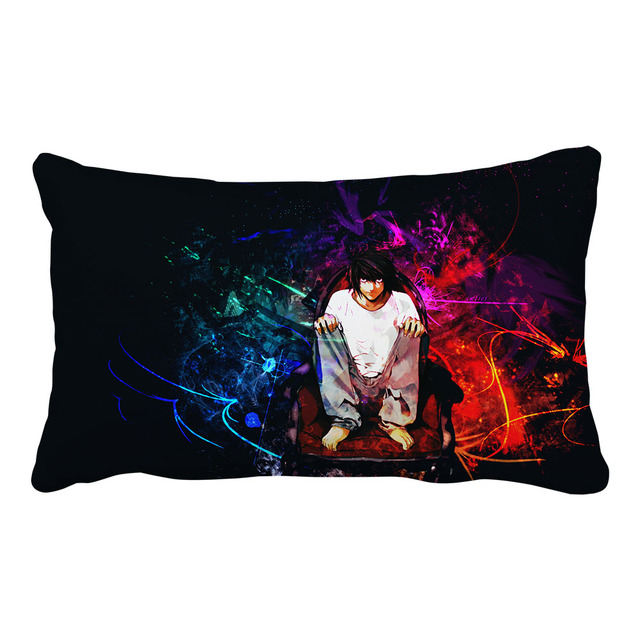 Death Note Pillow Case Glossy Pillow Cover (20 Styles)