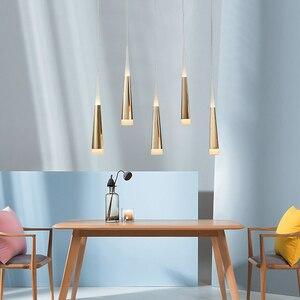 Image 3 - Mặt Dây Đèn led thay đổi độ sáng Treo đèn Hòn Đảo Bếp Phòng Ăn Cửa Hàng Bar Truy Cập Trang Trí Xi Lanh Ống Nhà Bếp Đèn