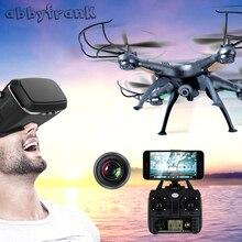 Abbyfrank X5C RC Drone Camera Airplane 0.3MP HD Drone 2.4G RC Toys Airplane 4 CH 6 Axis Remote Control Gyro Quadcopter Plane