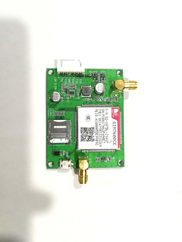 4G Module Development Board SIM7600CE Full Netcom 7 Mode Development Board, LTE Communication Dial Up Internet w5500 development board the ethernet module ethernet development board
