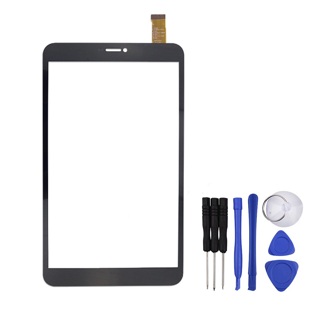 New 8 Inch Black for tesla neon 8.0 Tablet Capacitive Touch Screen Panel Digitizer Glass Sensor Replacement Free Shipping new capacitive touch screen digitizer cg70332a0 touch panel glass sensor replacement for 7 tablet free shipping