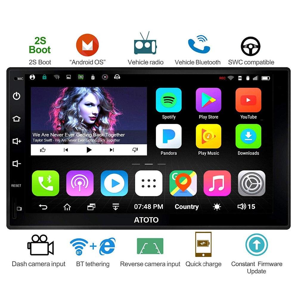 ATOTO A6 Doubel Din Android font b Car b font Auto font b Radio b font