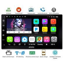 ATOTO A6 Doubel Din Android Car Auto Radio GPS Navi Lettore/2 * Bluetooth/A6Y2721P 2G + 32G/2A carica Rapida/Indash Multimedia/WiFi
