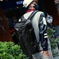 Balde de Viagem deve saco de ombro da forma Grande capacidade de Bagagem de couro pu Mochilas Homens Mochila mochila mochila dos homens