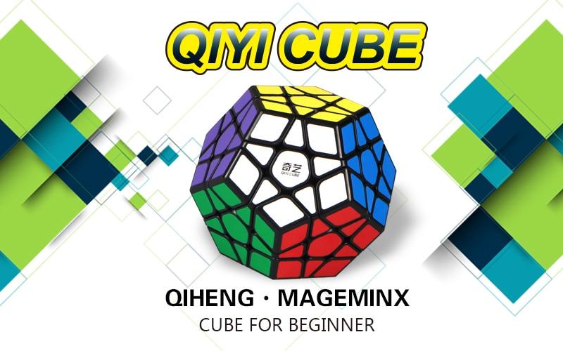 cubo mágico megaminx sin etiqueta velocidad profesional 12 lados - Juegos y rompecabezas - foto 2