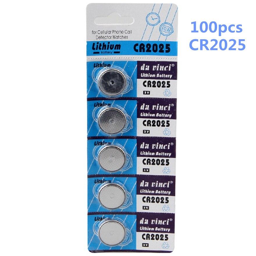 Batteries Bright 100pcs/lot Hot Sale Cr2025 Button Battery 3v Lithium Ion Battery Ecr2025 Br2025 2025 Kcr2025 Car Key Toy Button Battery Last Style Power Source