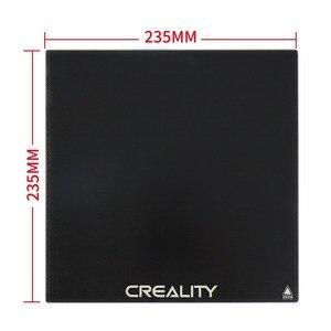 Image 3 - CREALITY 3D Ender 3 V2/Ender 3 PRO Tempered Carbon Silicon Glass Platform Build Hotbed Glass 235*235*3MM