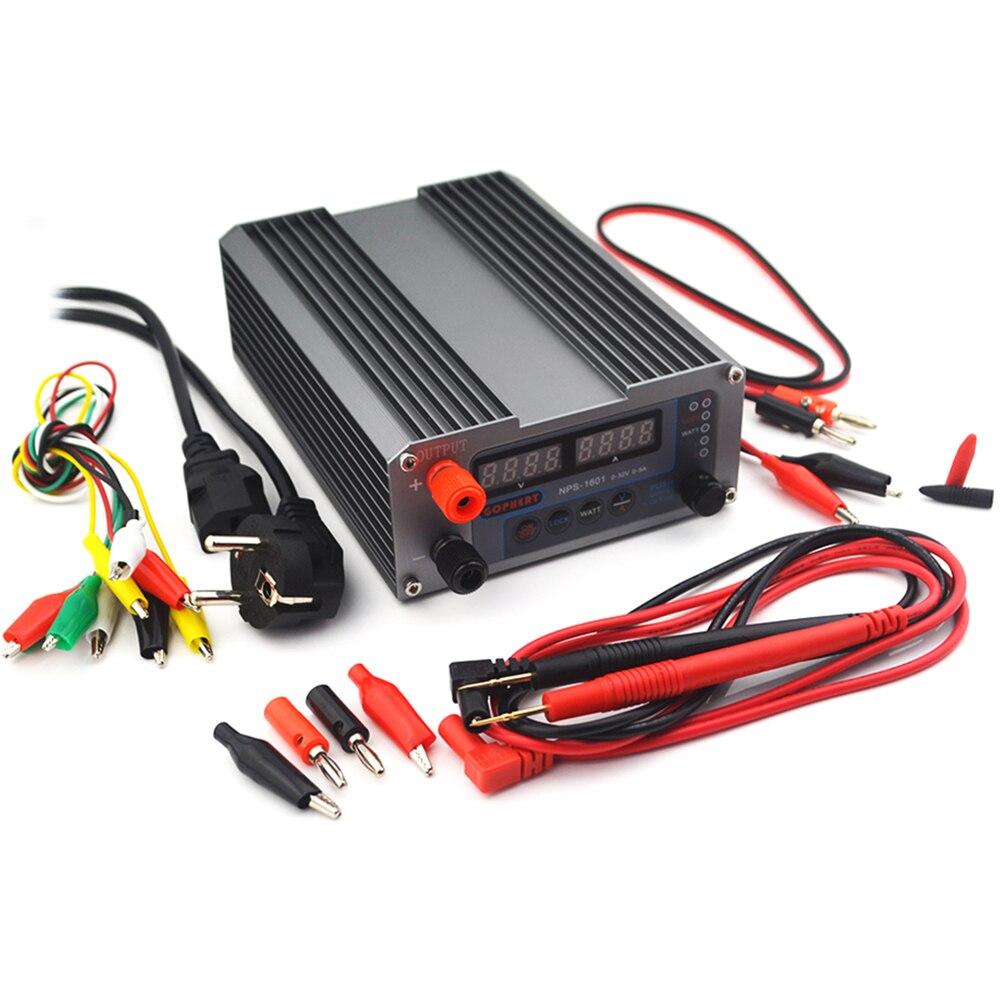 NEW NPS-1601 CPS-3205 3205II Upgraded Version Mini Adjustable Digital DC Power Supply OVP/OCP/OTP WATT 0.001A 0.01V 32V 30V 5A-1