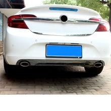 цена на Lsrtw2017 Stainless Steel Car Trunk Rear Bumper Strip Trims for Buick Regal Opel Insignia 2014 2015 2016