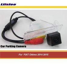 цена на Car Reverse Rear View Back Up Camera For FIAT Ottimo 2014 2015 Rear Back view Reversing Parking Camera HD CCD Night Vision