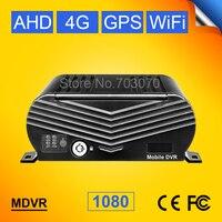 8ch AHD мобильный видеорегистратор с 4 г GPS Wi Fi в режиме реального времени наблюдения Cyclic Запись Поддержка 8 Камера 2 ТБ жесткий диск Автобус Груз