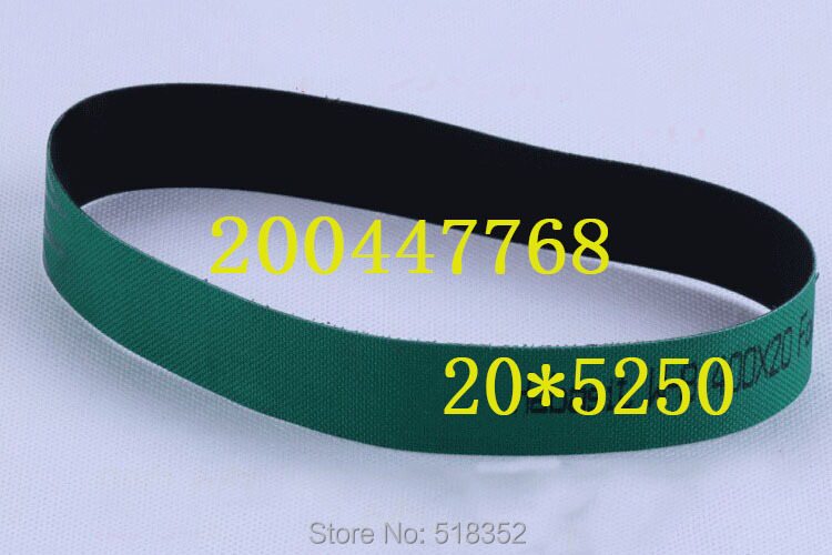 200447768 Charmilles Belt 20 x 5250mm Green ( with one side black), Wire EDM-Low Speed Machine Spare Parts black one велосипед black one active 26 2017 черно оранжевый 20