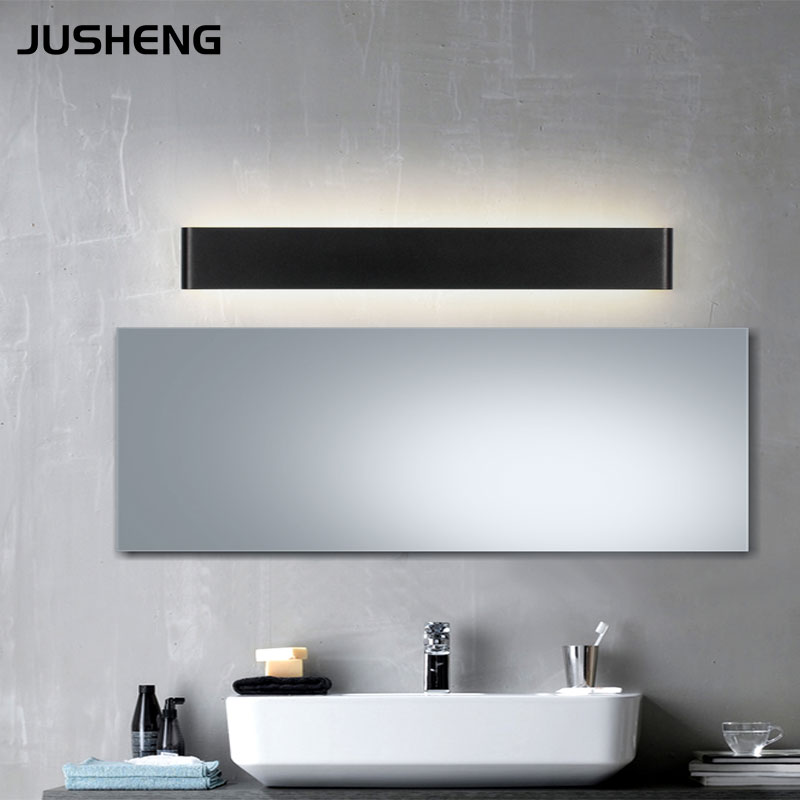 Black White Indoor Aluminum Wall font b Light b font Contemporary Style 100 240V AC LED