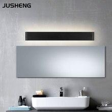 Negro y Blanco de Interior de Estilo Contemporáneo Luz de Pared de Aluminio 100-240 V AC LLEVÓ la Lámpara de Pared 36 W Negro 111 cm Para La Decoración