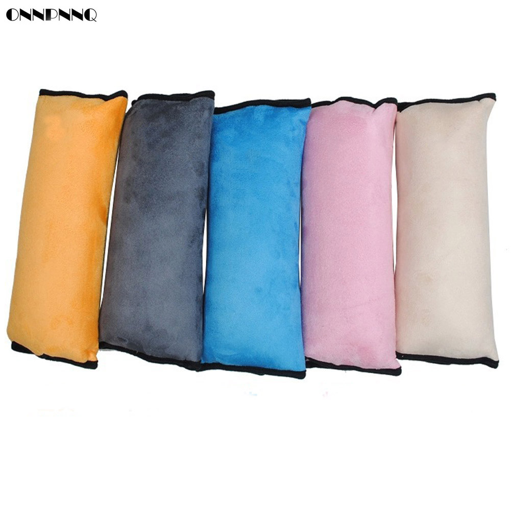 ONNPNNQ Children Baby Auto Safety Belt Harness Shoulder Pad Cover Support Pillow