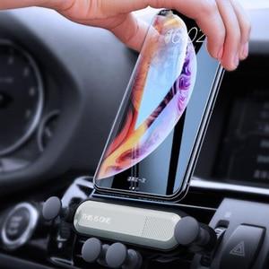 Image 5 - 重力電話で車の換気口なし磁気携帯電話ホルダー GPS iPhone 用スタンド xiaomi