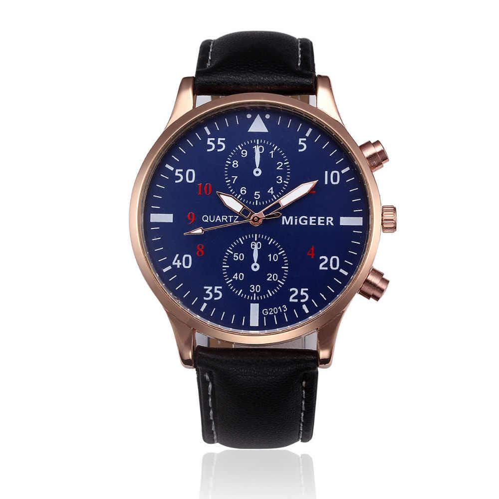 2018 Mannen Horloges Top Merk Relogio Masculino Retro Ontwerp Mens Sport Klok Analoge Quartz Horloges Mannelijke Uur Groothandel P40