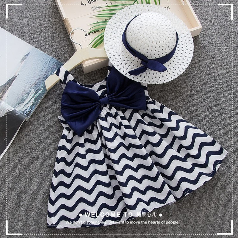 baby girl clothes for top wear Clothing newborn childrens wear summer kids costume sliders Kids things set striped with a hat