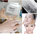 Natural Silk Facial Mask Ultra Thin Hyaluronic Acid Collagen Deep Moisturizing Whitening Mask Skin Care 10PCS/lot free ship