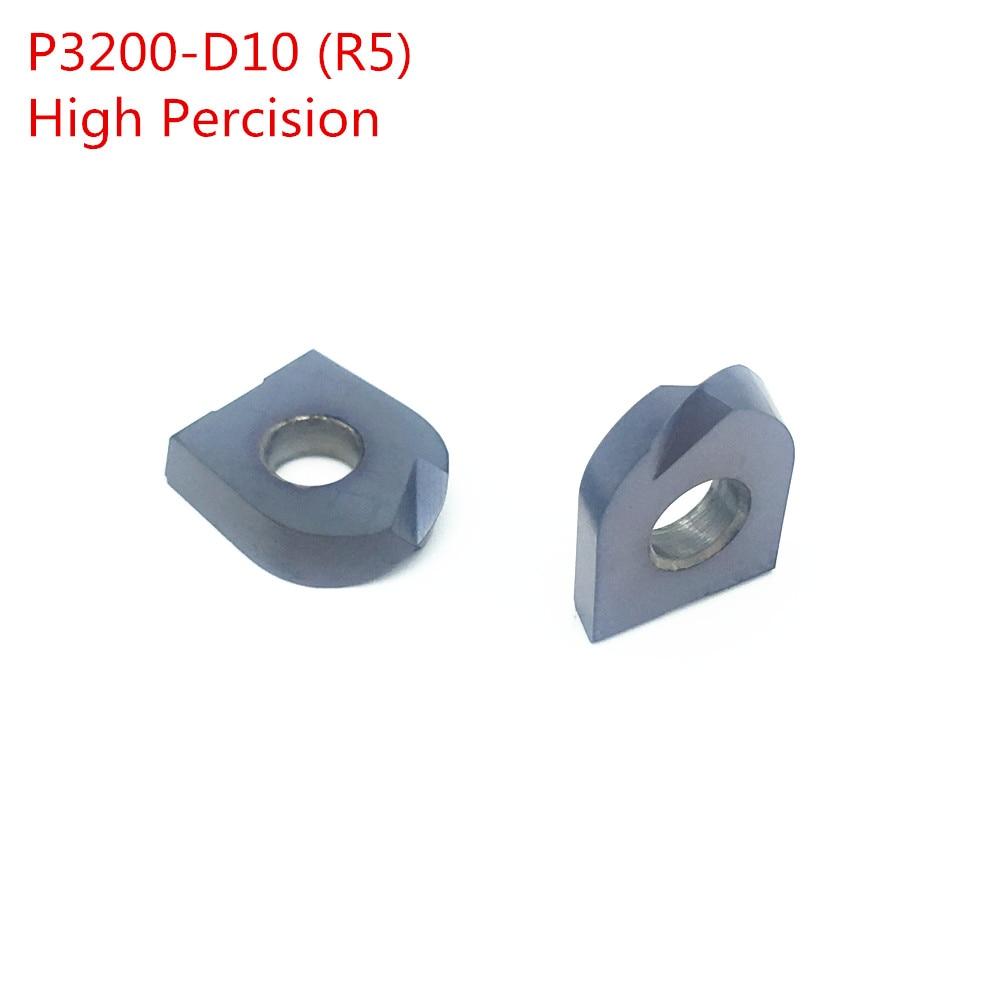 10PCS P3200 D10 R5 Inserto de carburo de bola 1PCS T2139 C10 R5 130MM - Máquinas herramientas y accesorios - foto 3