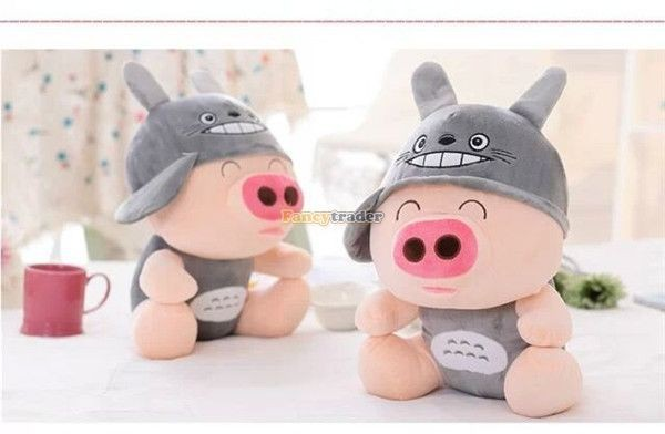 Fancytrader 37\'\' 95cm Super Lovely Soft PlusH Stuffed Giant McDull Pig, 3 Cartoon Models, Free Shipping FT50732 (3)