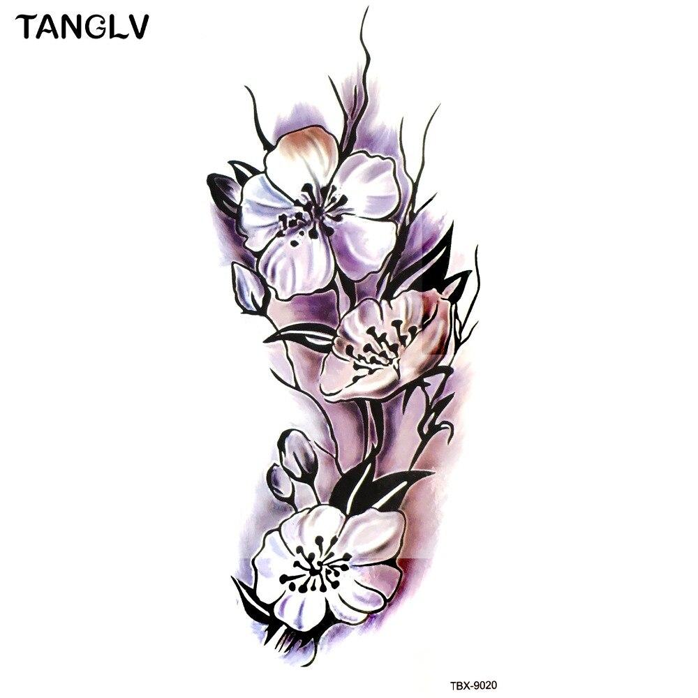 Popular Tattoos Cherry Blossoms Buy Cheap Tattoos Cherry Blossoms Lots From China Tattoos Cherry
