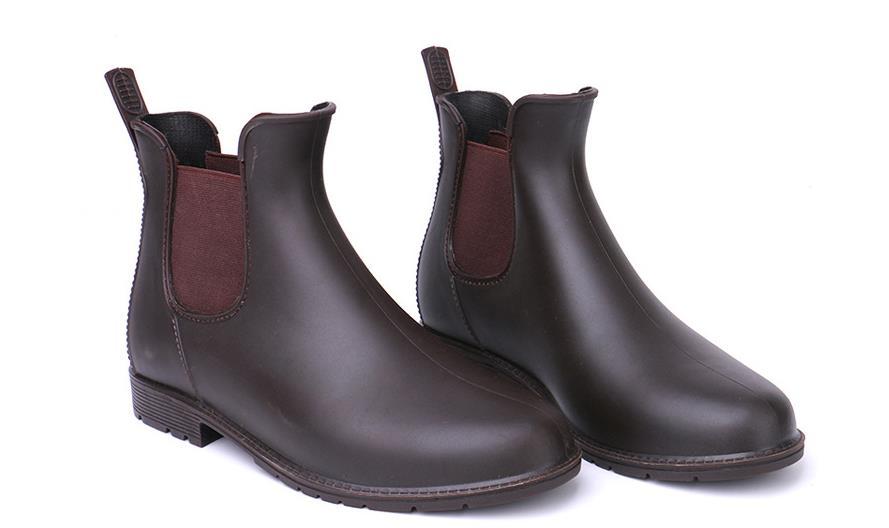 Buy cheap Chelsea Woman Rain Boots Ankle Pvc Waterproof Shoes on sale