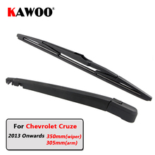 KAWOO Car Rear Wiper Blades Back Window Wipers Arm For font b Chevrolet b font Cruze