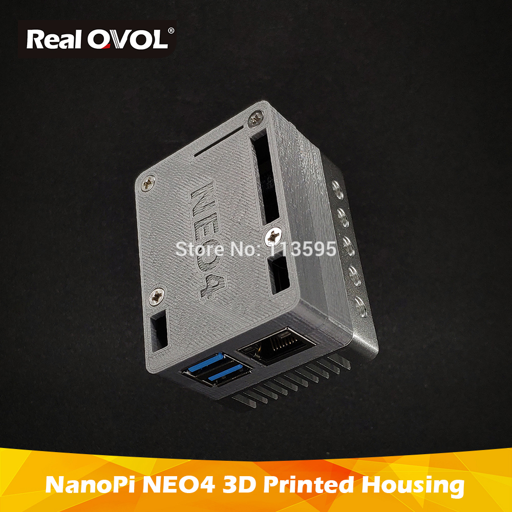 RealQvol NanoPi NEO4 3D Printed Housing Case