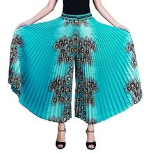 夏プリーツパンツワイド脚パンツ女性ゆるいカジュアルパンツ女性のハイウエストの女性のパンツ 2017 春ズボン分割スカート