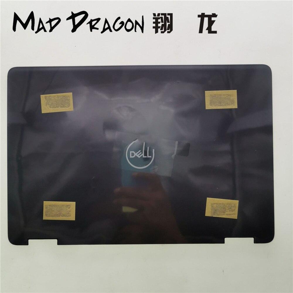 MAD DRAGON marque ordinateur portable nouveau LCD couverture arrière couvercle arrière Top Case noir pour Dell Latitude 3190 E3190 04R0FT 4R0FT AP23Z000100 - 2
