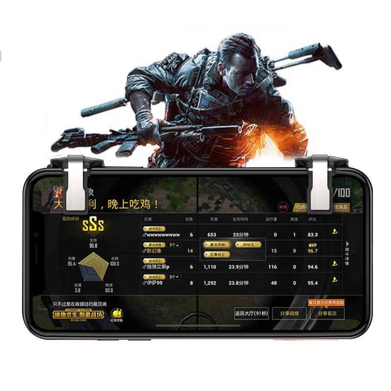 Новый телефон геймпад джойстик для PUBG Joypad триггер огонь Кнопка цель ключ L1R1 шутер контроллер PUBG для PUBG игра для мобильного телефона