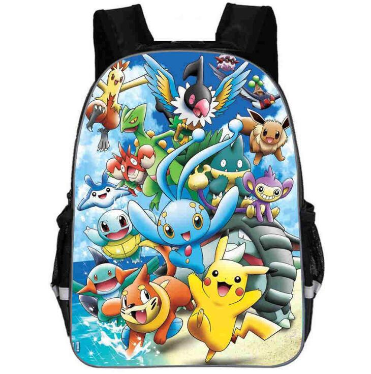 2019 New Pokemon Pikachu School Backpacks for Teenage Boys Girls Women Felt Backpack Casual School Bagpack Bolsa Mochilas2019 New Pokemon Pikachu School Backpacks for Teenage Boys Girls Women Felt Backpack Casual School Bagpack Bolsa Mochilas