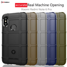 цена Coque On Case For Xiaomi Redmi Note 6 Pro Cases Ksiomi Redmi Note 6 Pro Cover Back Silicone TPU Soft Armor Xiomi Accessory Black онлайн в 2017 году