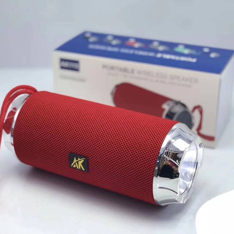 Wireless Bluetooth Speaker 10W Portable Column Sound System Portable Bluetooth Column with FM Radio TF LED Light for Computer in Portable Speakers from Consumer Electronics