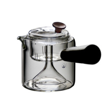 GFHGSD  Heat-resistant Glass 550ml Tea Pot Borosilicate Hyaline Steamed/boiled Home Flower Teapot Filter Teapots Set