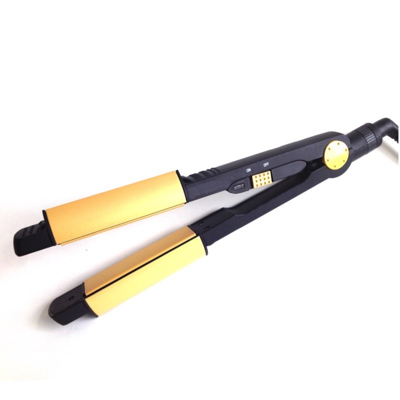 2 in 1 Hair Straightener and Curler Nano Tourmaline Straightening Irons Professional Flat Iron Electric Styling tools japan anime pocket monster pokemon pikachu cosplay wallet men women short purse leather pu coin card holder bag