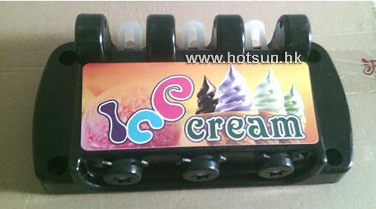 Ice Cream Dispenser for 3-flavor Ice Cream Machine MQ-L18, MQ-L22 Series faux suede platform buckle strap sexy thin high heel pumps fashion round toe party shoes women red black