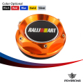 PQY RACING- OIL FILTER CAP For MITSUBISHI RALLIART BILLET  ENGINE OIL CAP NEW GOLD/BLACK/SILVER/RED PQY6315