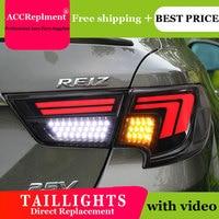 2PCS Car Styling for Toyota Mark X Taillights 2013 2017 for Mark X LED Tail Lamp+Turn Signal+Brake+Reverse LED light