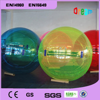 Бесплатная доставка 2 м раздувной Гуляя воды шары zorb ходить по воде ходьбы мяч вода bubble ball