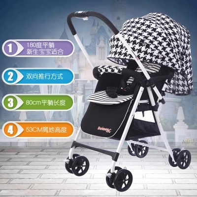 brand baby stroller super light 4.9kg high landscape baby stroller baby car light car umbrella ultra-light child baby stroller купить недорого в Москве