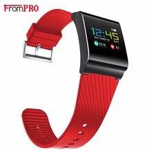 Цвет ЖК-дисплей умный Браслет X9 Pro Smart Браслет Приборы для измерения артериального давления кислорода сердечного ритма Фитнес трекер вызов SMS оповещения для IOS Android