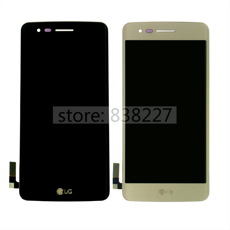 LCD display For LG K8 2017, M210, MS210 LCD Display Digitizer Touch Screen black and silver glass complete LCD screen in stock