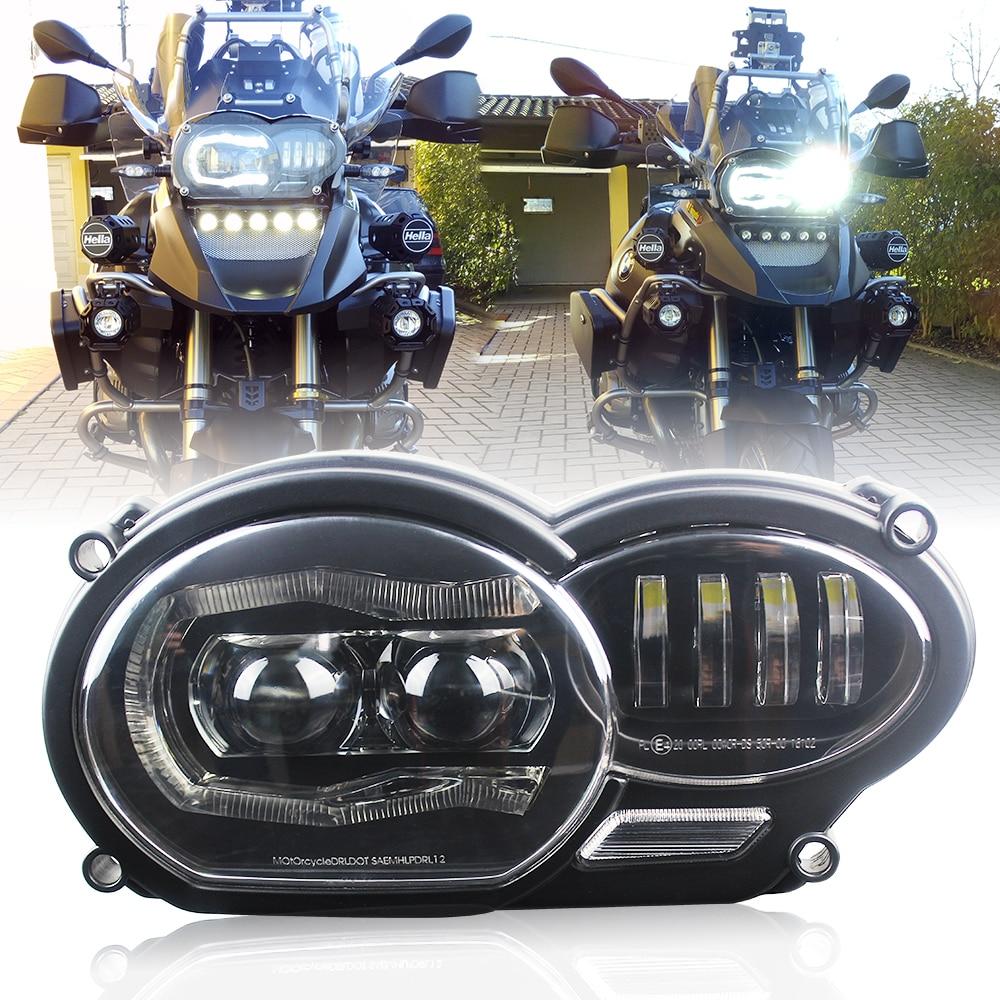 Per BMW 2005-2012 R1200GS/2006-2013 R1200GS Avventura di Proiezione A LED Faro adatta per Olio R1200GS