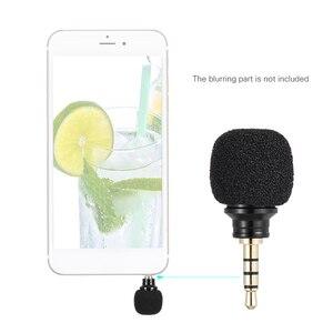 Image 2 - Andoer الهاتف المحمول الذكي المحمولة ميكرفون صغير متعدد الاتجاهات ميكروفون لتسجيل لباد أبل iPhone5 6s 6 Plus