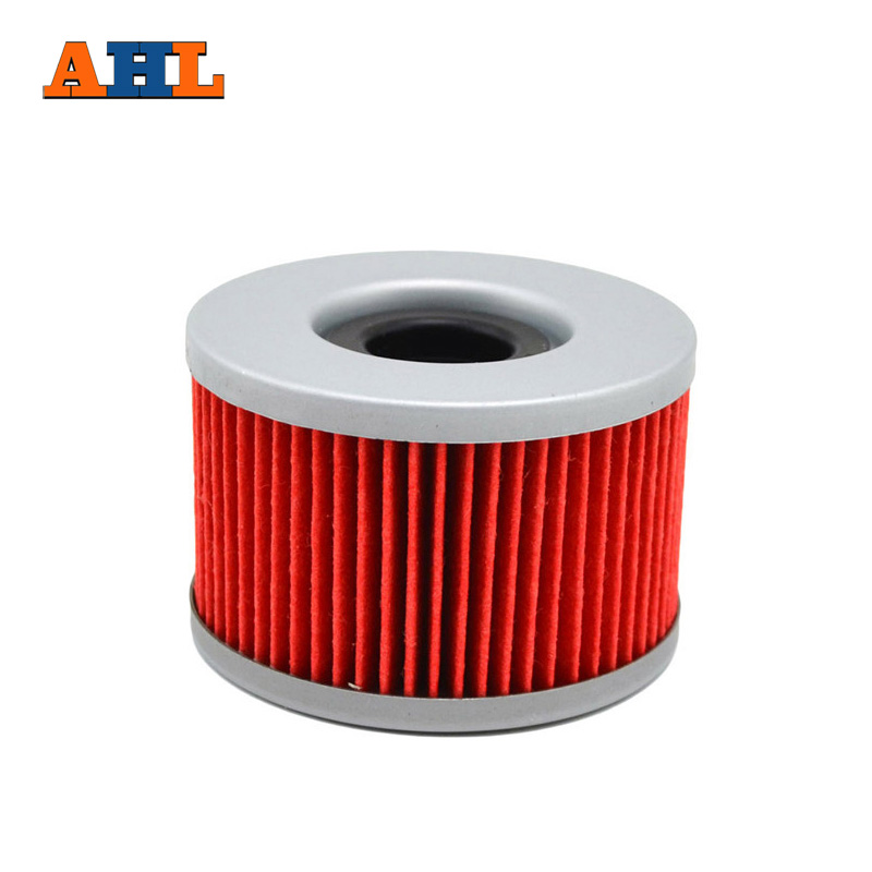 AHL 1pc Motorcycle Engine Parts Oil Filter For HONDA VTR250 VTR <font><b>250</b></font> INTERCEPTOR VT <font><b>250</b></font> VT250 INTEGRA <font><b>111</b></font> image