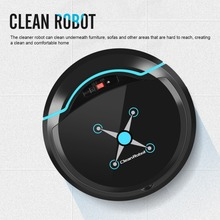 Mini Wet Dry USB Rechargeable Sweeper Smart Sweep Robot Automatic Mop Machine Wireless Floor Vacuum Cleaners Household Cleaning